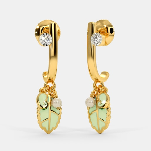 The Kore J Hoop Earrings