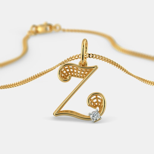 The Zesty Z Pendant