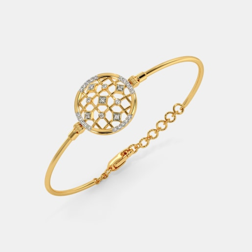 The Vera Oval Bangle