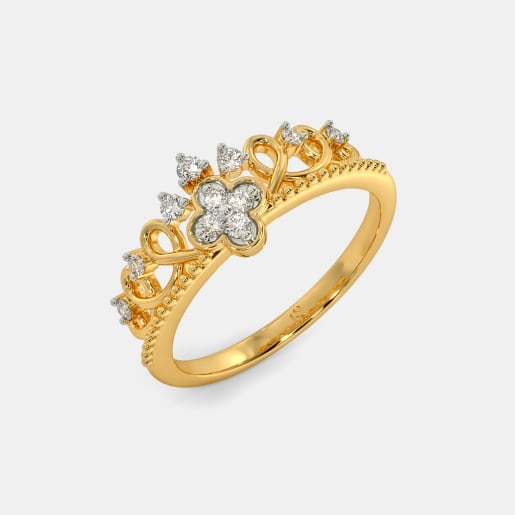 The Donatella Crown Ring