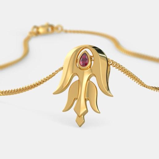 The Fiery Femme Pendant