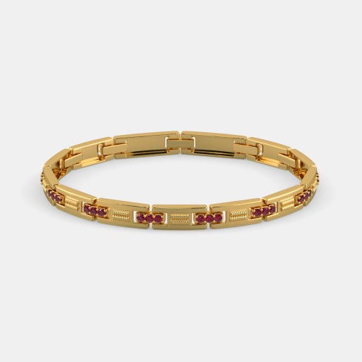 Buy Men S Gold Bracelet Designs Online In India 2019 Bluestone Com