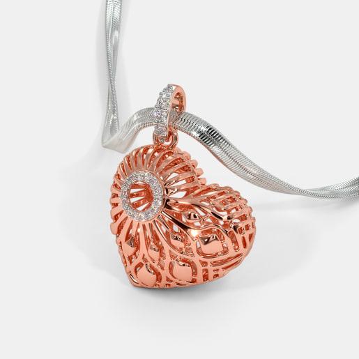 Elegant Knots of Love Pendant