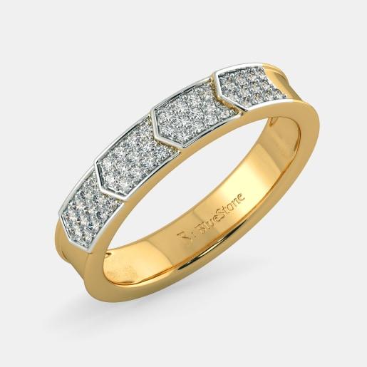 Buy 300 Women S Gold Ring Designs Online In India 2019 Bluestone Com