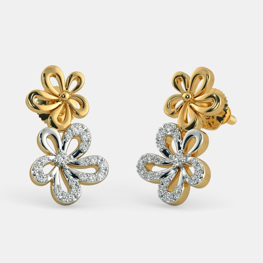 The Twin Flower Earrings