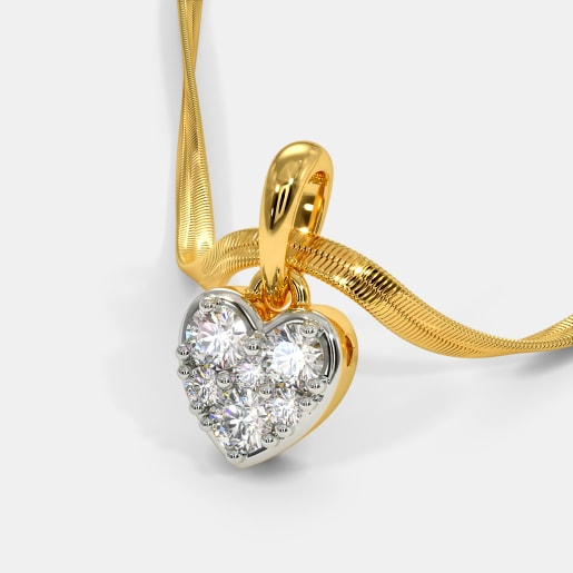 The Glimmer Heart Pendant