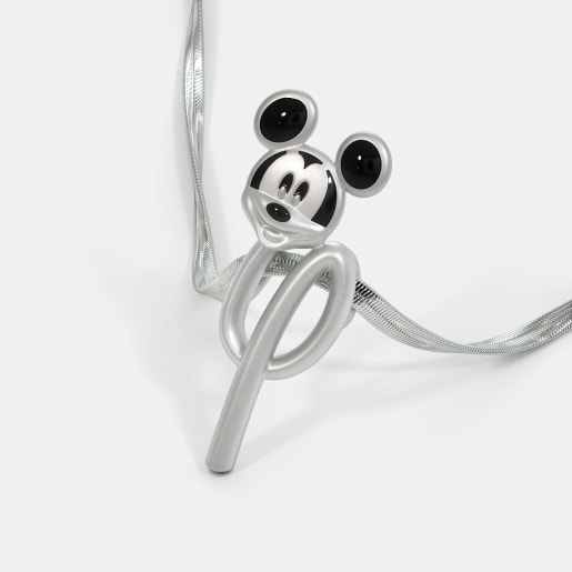 The Y For Yippee Mickey Pendant For Kids