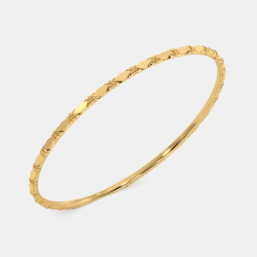 The Pleasing Leaves Bangle