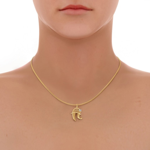 The Awesome A Pendant